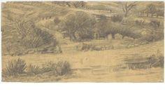 Δημήτρης Πικιώνης Ακρόπολη-Φιλοπάππου, Προσχέδιο για τη διαμόρφωση του Φιλοπάππου 1954 - 1957 ΑΝΑ_67_55_03 - Europeana