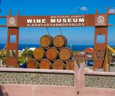 Do you want to know the entry ticket price for Wine Museum Koutsoyannopoulos? Opening & closing timings, parking options, restaurants nearby or what to see on your visit to Wine Museum Koutsoyannopoulos? Click Now to check the details! Greece Vacation, Greece Travel, Santorini Grecia, Wine Facts, Museum Plan, Wine Display, Wine Tasting, Wines, Places To Visit