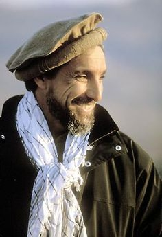 Afghan Freedom Fighter Ahmed Shaa Massoud by Reza Deghati