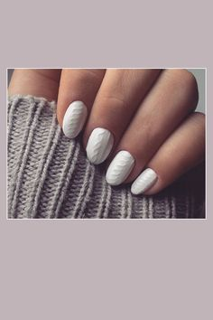 How-To: Nägel in Strick-Optik. #knitnails #howto