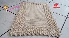 Tapete Pérola do Oriente Pink Artes Croche by Rosana Recchia