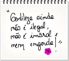 #Gentileza!