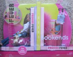 BARBIE Fashion Fever BOOKENDS & DOLL Set w Extra FASHION Top & More! (2005) by Mattel. $119.99