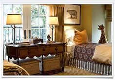 Sophisticated boys room
