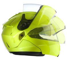 HJC HJC SY-Max III HiViz TouringModular Helmet is one of our most popular modular helmets available from HJC! • Advanced Fiberglass Shell with Adjustable Polyc