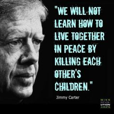 Jimmy Carter on peace