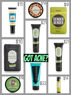 Have acne? Try Perfectly Posh - we have a great selection, for all skin types & needs!