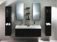 double sink bathroom vanities   Tumblr