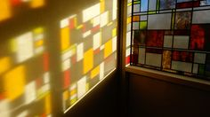 23a Bloomsbury Stained Glass Designs by Peels of London Stained Glass Window Film www.e-peels.co.uk