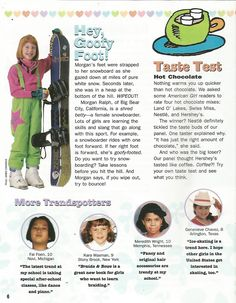 American Girl Magazine - January 1993/February 1993 Issue - Page 7 (Girls Express - Part 4)