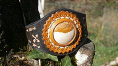 Hey, I found this really awesome Etsy listing at https://www.etsy.com/listing/543657603/leather-bracelet-with-gemstone-cabochon
