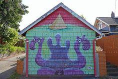Locate Henry murals around Seattle, WA