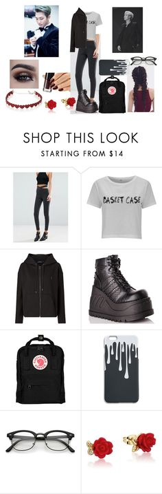 """""""E A S T"""" by youngandreckless-harley ❤ liked on Polyvore featuring Polo Ralph Lauren, Demonia, Fjällräven, Disney and Simons"""