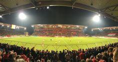 Stadion an der alten Försterei! Eisern Union. 1. FC Union Berlin FCU fuffzich