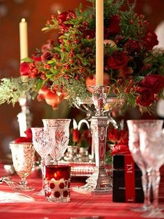 Table is set.....MERRY CHRISTMAS!    #Frontgate and #Holidaydecor,