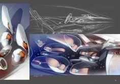 Renault Concept by Benjamin Pérot, via Behance