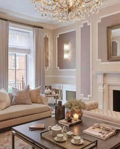 This Room Is The Perfect Place For Afternoon Tea In Our Knightsbridge Project