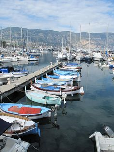 Port de Saint Jean Cap Ferrat, south of France  -  harbors are the most romantic and beautiful things on earth.