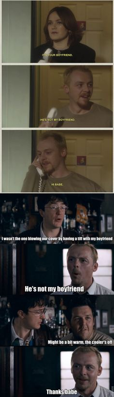 Simon Pegg Nick Frost in Spaced and Shaun of the Dead - Some things never change. Forever repinning