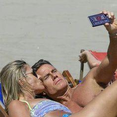 """Jimmy Ghione e Tania Paganoni si fanno un """"selfie Streatart"""""""