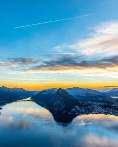 Und weils so so schön war gleich noch ein Foto aus dem aktuellen Blogpost! Vor 2 Wochen war Lugano noch weit davon entfernt im Schnee zu versinken...  Ich wünsche euch einen wunderschönen gemütlichen Sonntag Abend! Bei uns gibts jetzt dann gleich Znacht Schatzi @adislittlecity ist am kochen   #InstaTripTicino #visitticino #sunsetmadness #lugano #luganoinblog #montebre #sansalvatore #inlovewithswitzerland #innamoratidellasvizzera #melide #lagodilugano
