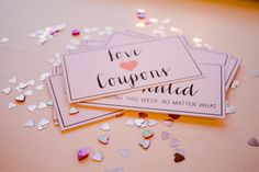 Limited Edition My Sweetheart Love Coupon by LittleOvertheTopShop