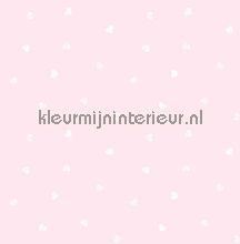Dwarrel hartjes behang bij kleurmijninterieur.nl