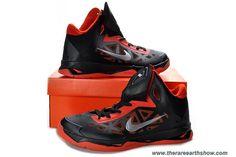 official photos 0926e db16e Buy Nike Zoom Hyperchaos Mens Basketball Shoes Black Gym Red Metallic  Silver 535272 For Sale