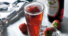 Jordbærdrink med champagne