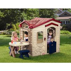 "Little Tikes Picnic on the Patio Playhouse, $199,  73.25""L x 37.00""W x 47.50""H"