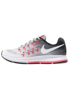 huge discount cd411 81abc AIR ZOOM PEGASUS 33 - Neutrala löparskor - wolf grey white black hot  punch pure platinum   Zalando.se 🛒