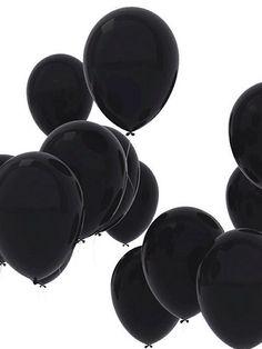 black baloons