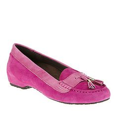 "Orthaheel Dr. Weil ""Florence"" Mocassins in Pink"