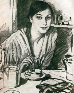 Волконская Ирина (портрет И.С.Волконской-Рахманиновой, 1926)