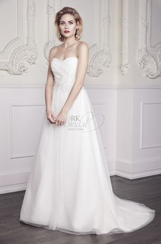 Style * 1960 * » Bridal Gowns, Wedding Dresses » Spring 2015 Collection » by Mikaella Bridal » Available Colours : Natural