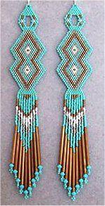 #beadwork  Double Diamond