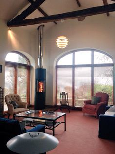 The stunning scan 85 maxi we've just installed today and twinwall flue system