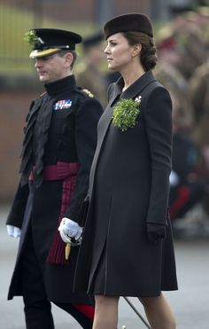 Kate Middleton and Prince William celebrate St. Patrick's Day.