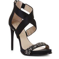 ee623779789 BCBGMAXAZRIA Elyse High-Heel Crisscross Ankle Day Sandal ( 250) ❤ liked on  Polyvore