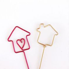 Just moved and having a house warming party? These cupcake toppers are perfect for your sweet treats! Get them at www.rlhcreations.com.