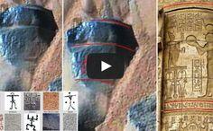 Marte Antica  Colonna fotografata dalla NASA