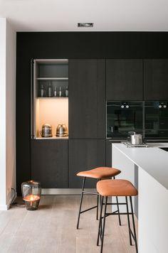 Терракотовый цвет и сочетание цвета кухни с полом