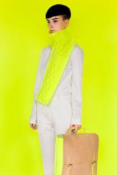 'Neon Old School' Fashion Collection // Alba Prat Mellow Yellow, Neon Yellow, Colour Yellow, Old School Fashion, Neon Colors, Pantone, High Fashion, Fashion Photography, Style Inspiration