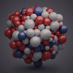 RedWhiteBlueDay bu Grescalegorilla using Cinema 4D