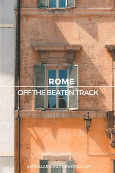 Discover 11 things to do and see in Rome off the beaten-track in this guide to the hidden gems in the Eternal city written by a local. Italy Travel Tips, Europe Travel Guide, Rome Travel, Travel Destinations, Travel Guides, Travel Hacks, Big Ben, Things To Do In Italy, Voyage Europe