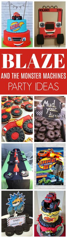 21 Blaze and the Monster Machines Party Ideas | Pretty My Party