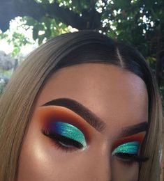 Eye Makeup Steps, Makeup Eye Looks, Cute Makeup, Gorgeous Makeup, Skin Makeup, Awesome Makeup, Crazy Makeup, Best Eyeshadow, Eyeshadow Looks