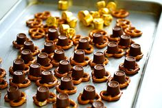 Rolo Pretzel Turtles - the recipe on the Hershey site is better, but it wouldn't let me pin: https://www.hersheys.com/recipes/recipe-details.aspx?id=8631