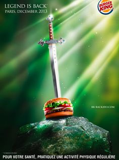 Fake Pub Burger King France
