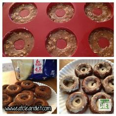 CINNAMON PROTEIN DONUTS with WALNUTS. Make sure your protein powder is GF.